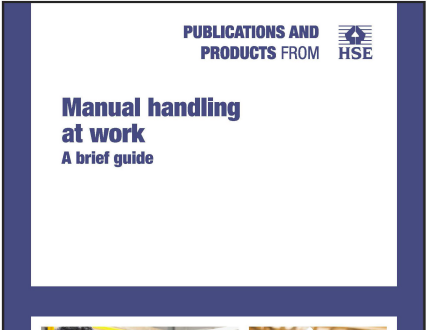 Be aware of the risks of manual handling
