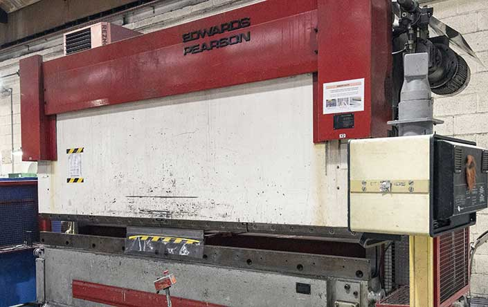 Power press and press brake inspection
