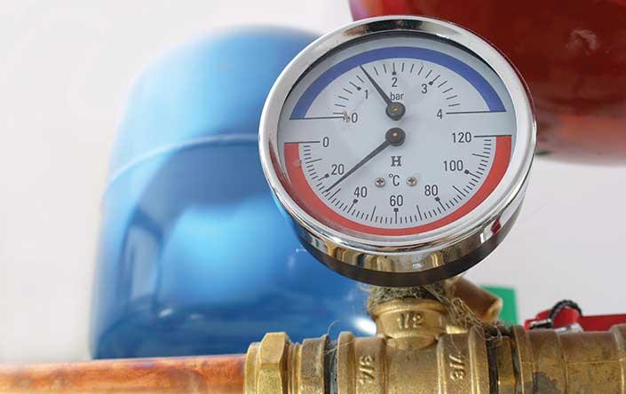 Pressure system inspection